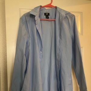 Light blue men's dress shirt